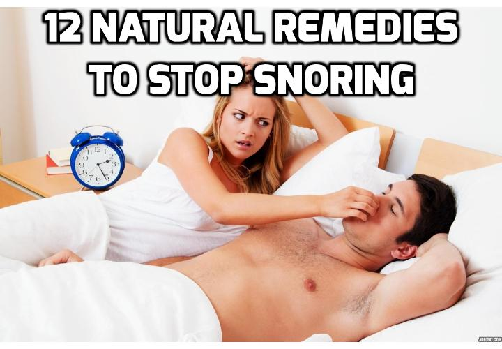 12 Ways to Stop Snoring and Treat Sleep Apnea - Regular snoring results in poor sleep for the snorer, and poor sleep for whoever shares the bed, room, or in extreme cases, the people next door. Read on here to learn about the 12 ways to stop snoring.