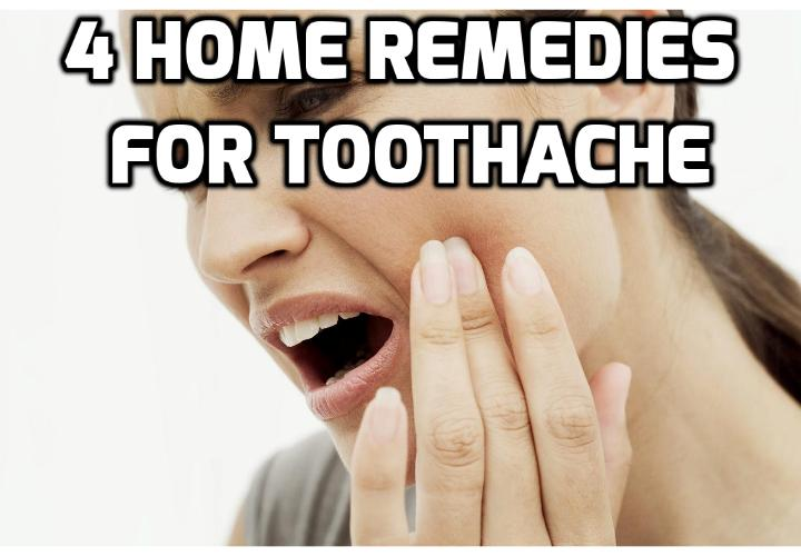 4 Simple Remedies for Toothache Relief - If you are wondering what to do for tooth pain and if you know this is caused by tooth decay, read on here to learn about these 4 simple remedies for toothache relief.