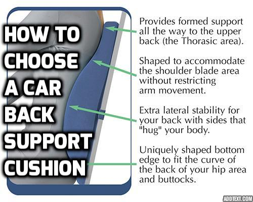 Why Do You Really Need Genuine Car Back Support? If you spend a lot of time in your car, a poor sitting posture can give rise to chronic back pain. Here is how to choose the best car back support for keeping a good posture and ending all your body pains.